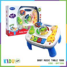 Jual MUSICAL LEARNING TABLE 1088 TABLE MUSIC MAINAN BAYI uptoys Source · Mainan Musik Baby Music Table 1089 Kidu Toys