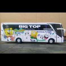 Miniatur Bus Bintang Timur Jetbus SHD