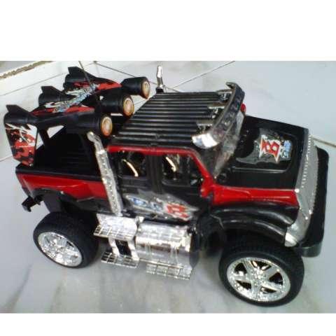 Mobil Remote Control RC Car Jeep King Driver - Hitam