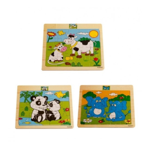 Jigsaw XQ Binatang 5 Buah - MultiColour. Source · Jual Momo Toys .