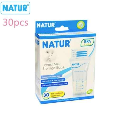 Natur Breast Milk Storage Bags 30pcs
