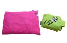 Olus Paket Pillow - Pink dan Sarung Pillow Extra - Hijau Muda