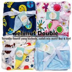 Babymix Selimut Bayi Anak Double Fleece Boysgirls Daftar Update Source · OmahBayi Selimut Bayi Carter Baru