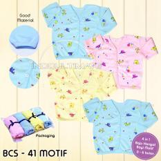 BAJU BAYI HANGAT 4pcs BCS-41 Motif Random / Baju bayi perempuan laki laki / baju Anak / pakaian bayi / Kaos Bayi / perlengkapan bayi / baju bayi newborn