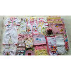 Paket  lengkap perlengkapan bayi(bayi perempuan)/Newborn(baru lahir) hemat & lengkap