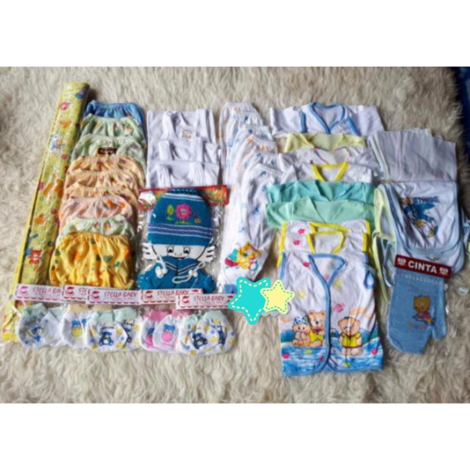 Paket perlengkapan bayi (baby boy)/Newborn(bayi baru lahir) murah &