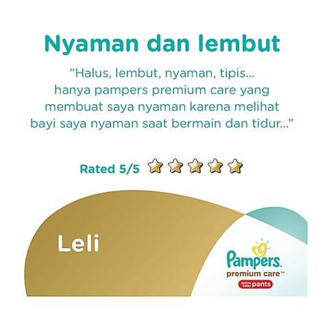 Pampers Popok Celana Size L 6x24 Premium Care - Popok Bayi