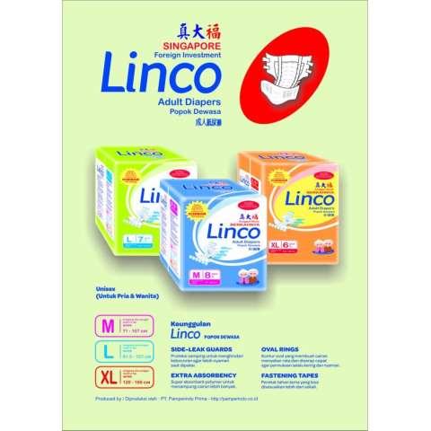 ... orang tua sekali pakai pampers diapers uk m . Source · Harga Jual Popok Dewasa Diapers Pampers Linco Size L Isi 7 Pcs Harga Rp 225.000