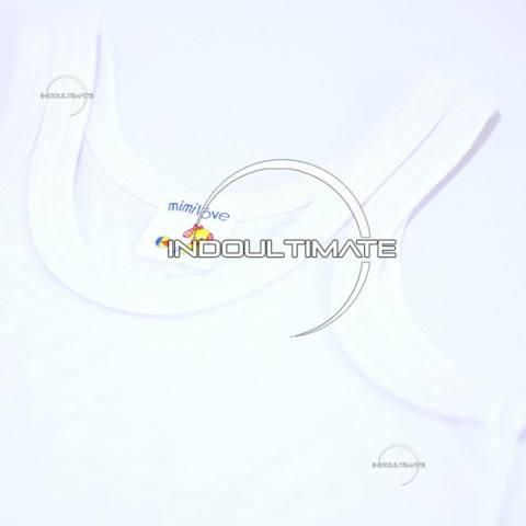 PREMIUM 6pcs Kaos Dalam Bayi 100% COTTON KD-01 / KATUN DINGIN SERAP KERINGAT Lembut / baju bayi anak perempuan / baju bayi laki laki  / perlengkapan bayi 4