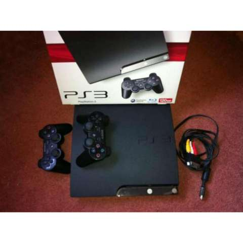 PS3 Slim 250gb CFW Murah/Playstation 3 Slim 250gb Fullgame CFW + 2 Stick