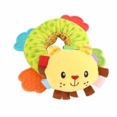 Quincybaby Rattle donut lion mainan edeuksasi bayi - s280