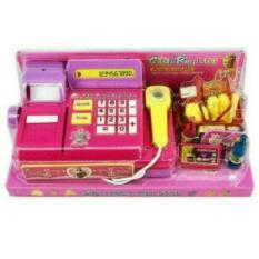 Random House Mainan Mesin Kasir Cash Register Keren Dan Lucu, Pink