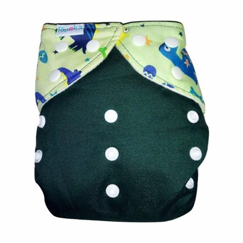 Riyoka Cloth Diaper Pocket – Snap – 1 pocket 2 insert