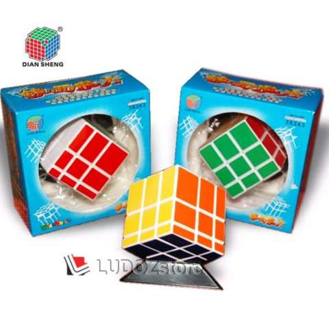 Rubik MIRROR 3x3 White Base Stiker COLOR, ORI DianSheng 3x3x3 Magic Cubic Rubik's BOX Licin