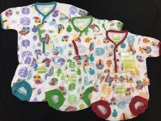 Setelan Baju Tidur/Piyama Pendek Velvet Junior Newborn