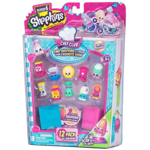 Shopkins Season 6 Chef Club (Random Assortment)