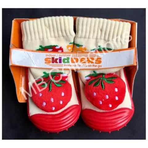 Harga Skidder Sepatu Bayi Sepatu Karet Bayi Skidder Sepatu Motif Boneka Strawberry 02 Uk 23 Harga