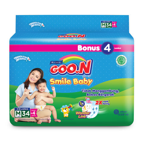 Smile Baby Pants Wonderline Super Jumbo M isi 38 (Karton) isi 6 1