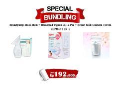 Spesial Bundling Breastfeeding Paket Menyusui 1
