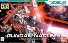 Stock on hand 10000 are up to a 00 HGs 151/144 Gundam Nadleeh Nuo GN-004 virtuous thunder - intl
