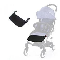 Stroller Footrest 16 Cm Aksesoris untuk Babyzen YOYO Yoya Waktu Bayi Kaki Ekstensi Bayi Pram Footboard (Hitam) -Intl