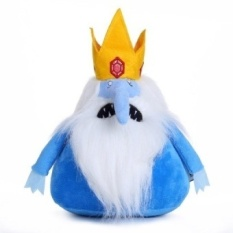 Super Cool 28cm Cartoon Adventure Time Plush Toys The Ice King Plush Toy Soft Stuffed Doll with High Quality