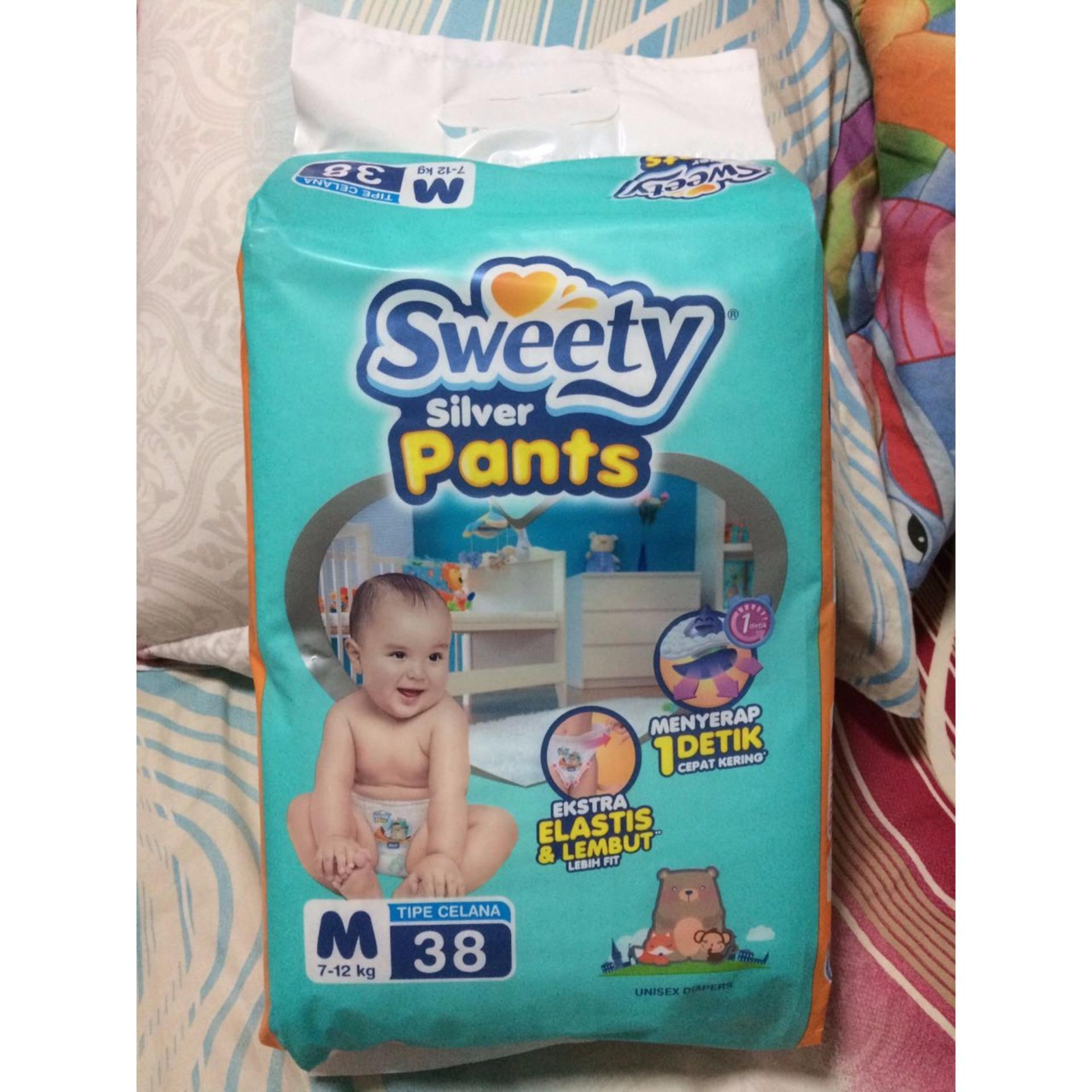 Penawaran Sweety Silver Pants Popok Bayi Dan Anak Unisex Diapers Mamypoko Standar Xl 38 Pulau Jawa Only Desain Lucu Keren Tipe Celana Size M