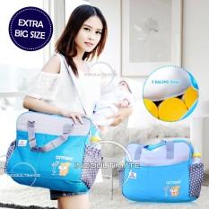 TAS BAYI BIG SiZE CINTAKA BY-04 BLUE / Tas Diapers / susu / perlengkapan bayi / Baby Diaper Bag