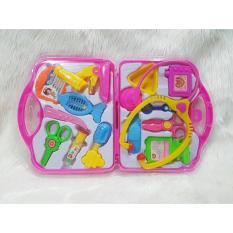 Tas Mainan Anak Alat Dokter Doctor Set Koper