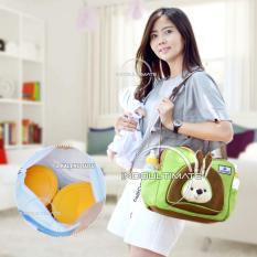 Tas Perlengakapan Bayi Kelinci Cintaka/Tas Diapers/susu/Tas bayi/Baby Diaper Bag BY 06 - Green