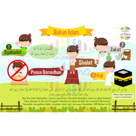 ... Hiasan Dinding Bingkai Frame Wall Decor. Source · Home; TME Poster Anak Islami 6+1