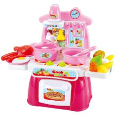 Tomindo Cook Happy Kitchen Playset / Mainan Anak Masak Masakan - 889-40