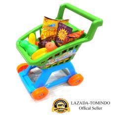 Tomindo Toys Mainan Anak Trolley Supermarket / Mainan Dapur / Mainan Supermarket / Mainan Trolley