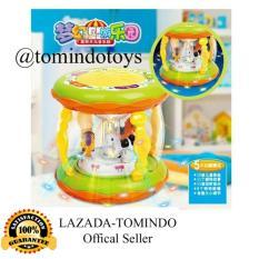 Tomindo Toys Merry Go Round Music Drum - Mainan Drum Musik