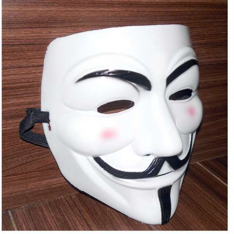 Topeng Anonymous Vendetta Putih