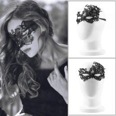 Topeng Party Pesta Wanita - Sexy Mask New Branded - 001 - Hitam