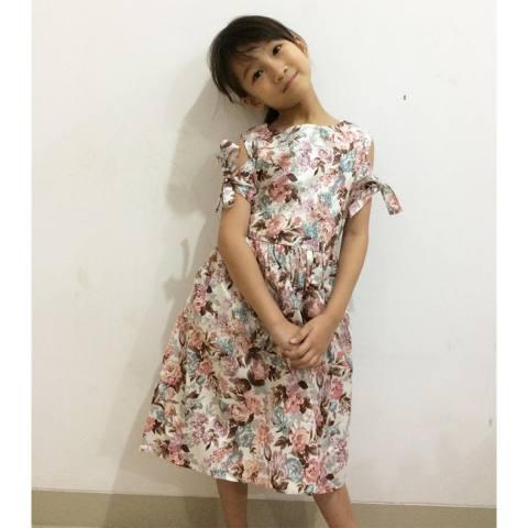 Toylogy Grow Baju Gaun Harian Anak Riri ( Grow Riri Gown Dress Clothes Child Girl )