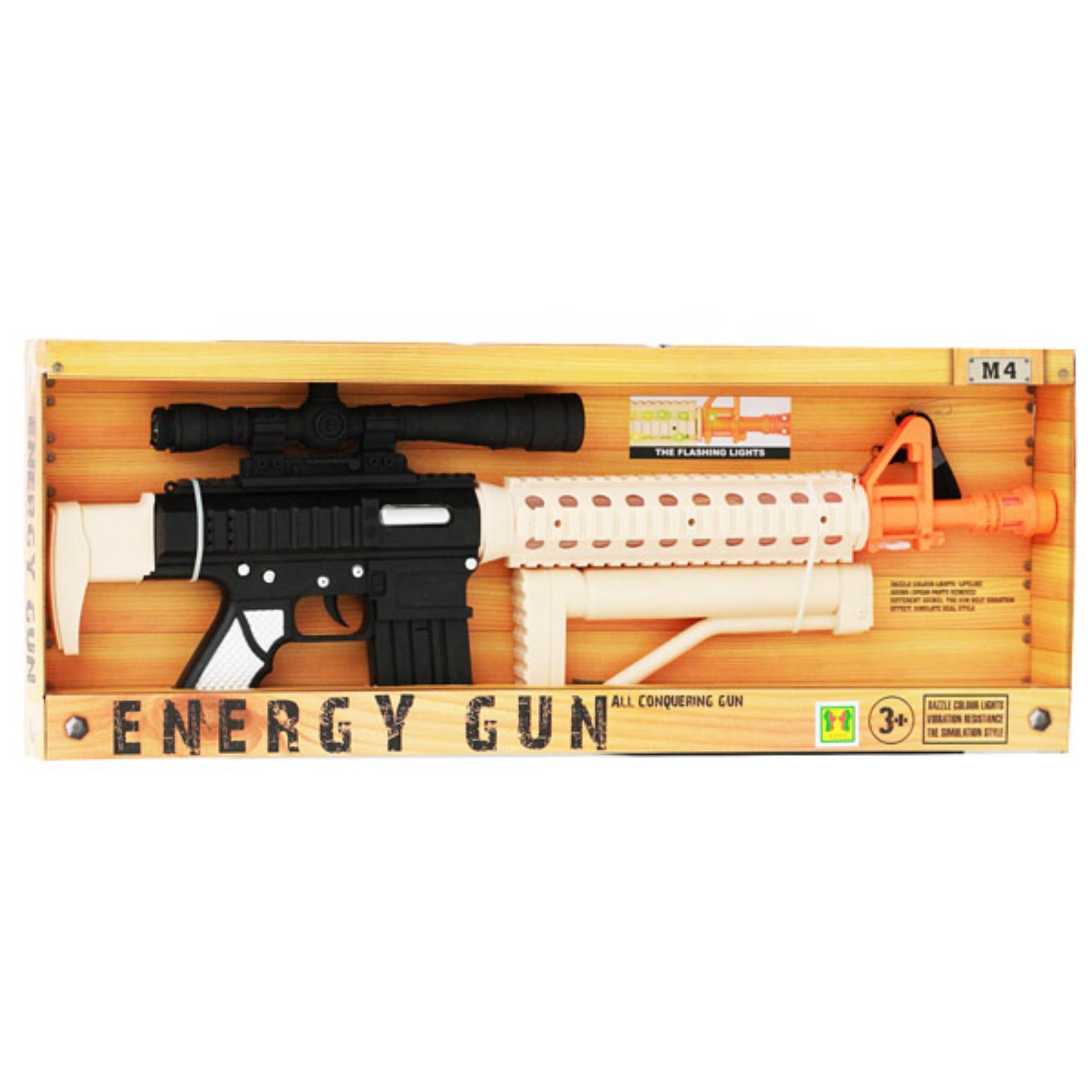 PENAWARAN Toys Empire-Energy Gun Besar Mainan Pistol Anak M4 60d82dcc86