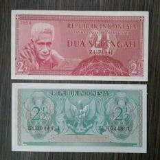 Uang Kuno Indonesia 2-5 Rupiah 1954 Unc