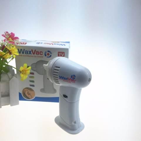 Home; Wax Vac - Pembersih Telinga Elektrik Pembersih Telinga Instan Korek Kuping Elektrik