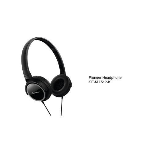 Pioneer Headphone SE MJ512K Hitam