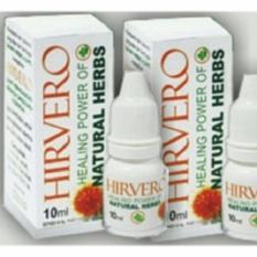 2 Botol Hirvero Original Jamu Tetes Penyakit Kronis
