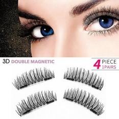 3D Reusable Magnetic False Eyelashes-0.2mm Ultra-Thin Dual Magnet Fake Eyelashes No Lem Bulu Mata Palsu Ekstensi untuk Tampilan Alami, Bulu Mata Yang Menawan Dalam Hitungan Detik 1 Pair-Intl