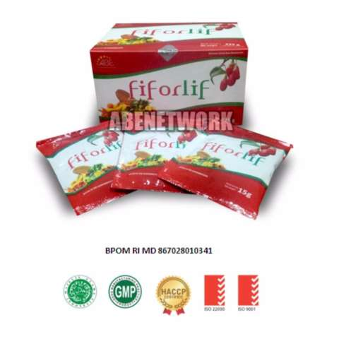 Abe Fiforlif Super Fiber & Detox 100% Original Kaya Nutrisi - 15 Sachet/box 2