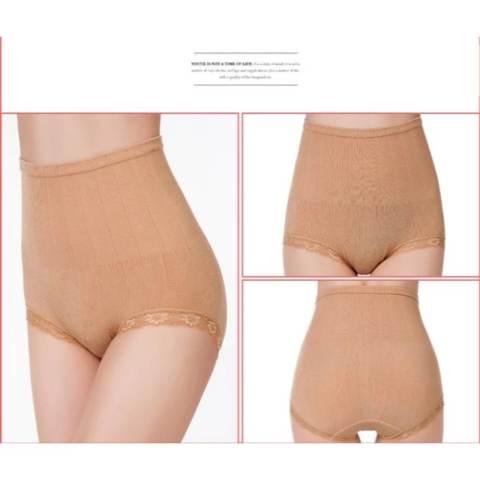 AIUEO - Munafie Slim Pant Celana Korset 75 Gram All Size - Coklat Bundling Dariya Hair Penahan Rambut Dan Poni - 1 Pcs 2