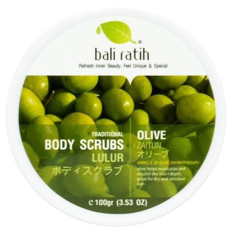 Bali Ratih - Body Scrub 110mL - Olive