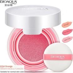 BioAqua Blush-On Air Cushion - Smooth Muscle Flawless - No. 3 Peach Orange