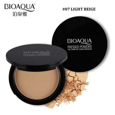 Home; BIOAQUA Make Up Professional Pressed Powder Foundation Bedak Padat-Light Beige