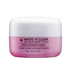 Biokos White N' Clear Night Radiance Cream - 30g