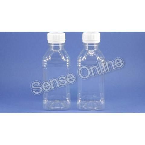 Botol Plastik Minuman Puding Vico Kotak 250 Ml Bening